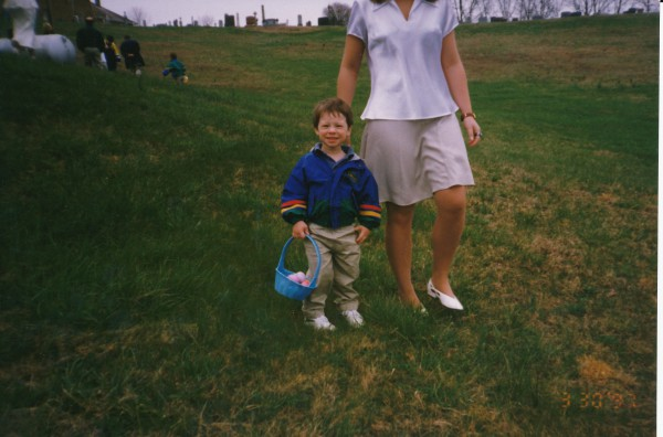 1997 Easter Egg Hunt