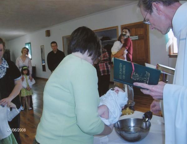 2008 Baptism