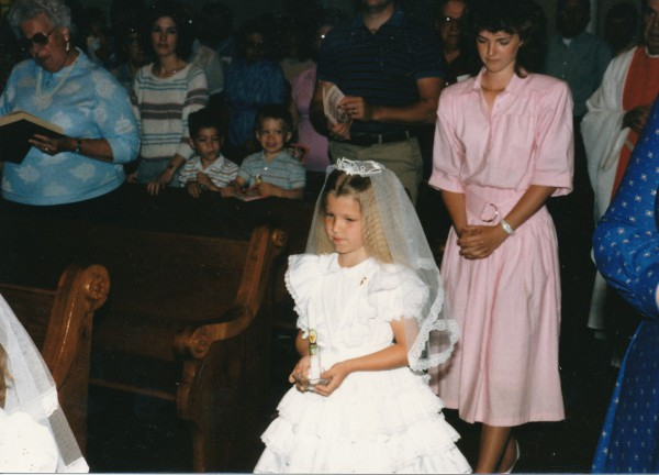 Bridget Simpson First Communion
