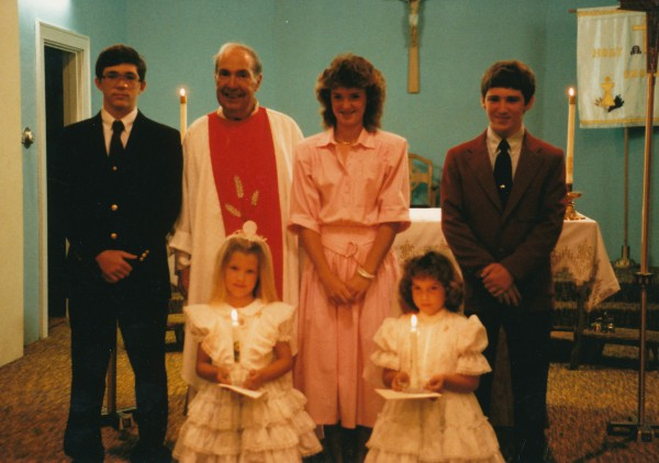 Bridget Simpson First Communion