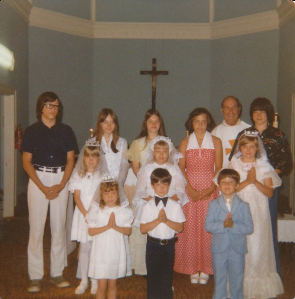 Dena Simpson First Communion