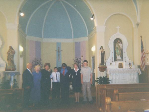 Timothy Kloeppel First Communion