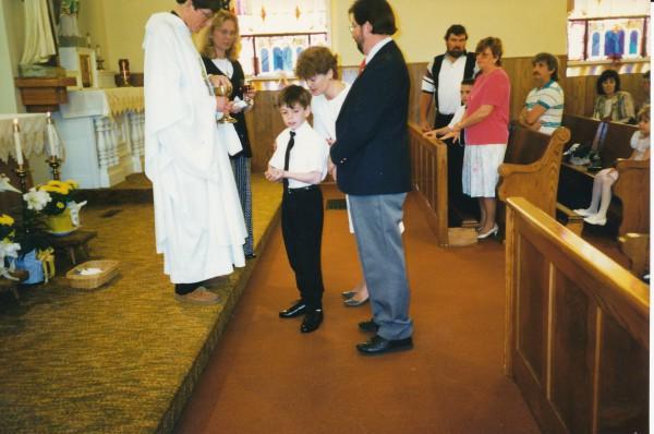 James Kloeppel First Communion