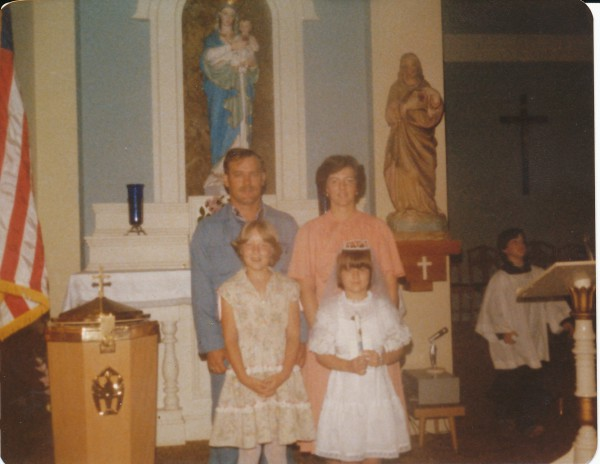 Karessa's First Communion