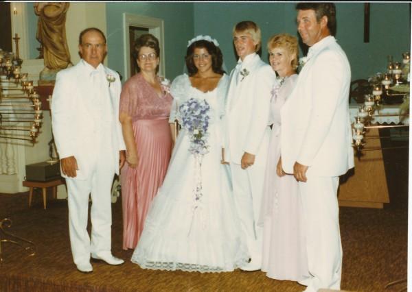 Kathy and Tony James Wedding