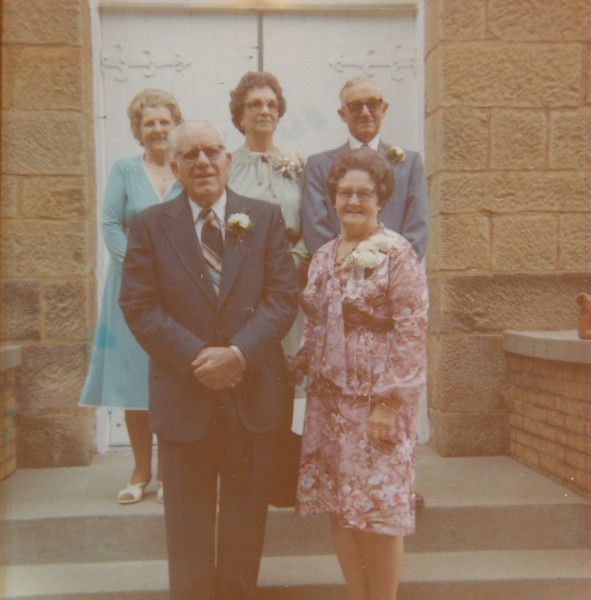 Mamaw and Papaw's Golden Wedding Anniversary