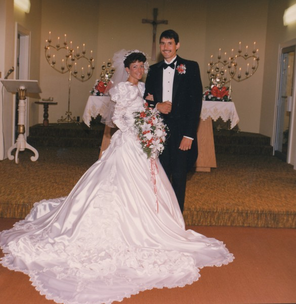 Tina and Steve Goffinet Wedding