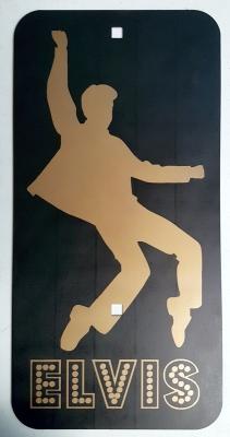 Elvis Presley Street Sign