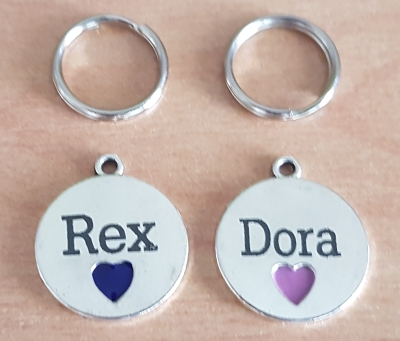 Dog and Cat Pet ID Tag