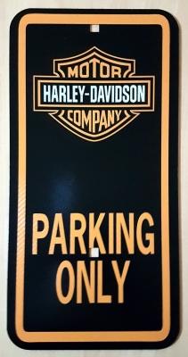Harley Davidson Street Sign