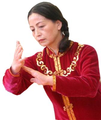Shi Mei Lin performs Wu style Tai Chi