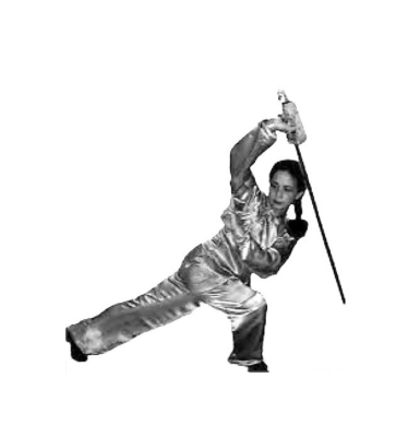 shi mei lin performs Shao lin sword