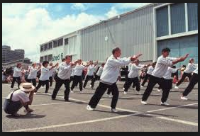 Shi Mei Lin Tai Chi Students