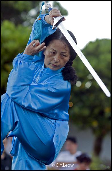 Shi Mei Lin Tai Chi Sword