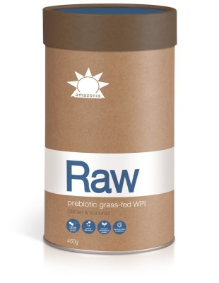 Raw Prebiotic Grass-fed WPI (Cacao & coconut)
