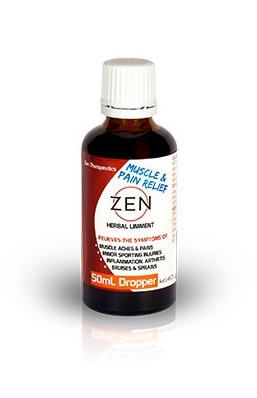 Zen Herbal Liniment - Dropper