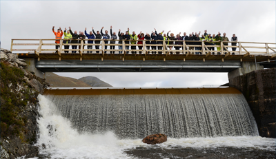 Ancala Partners and Green Highland Renewables commission £13.6 million hydro scheme