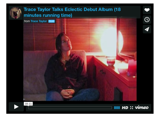 Trace Talks Eclectic Debut Album