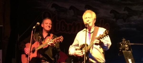 John Adams and Jake Jabs perform together at TAPS