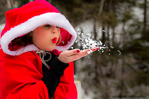 Red Riding Hood Blowing Snow