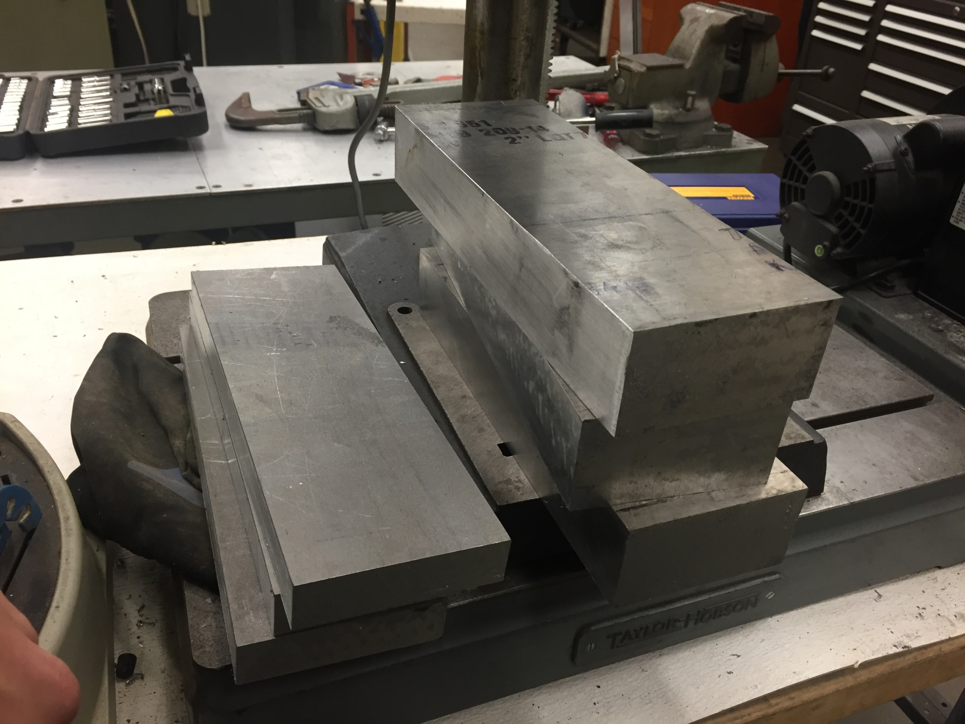 7075 Aluminium Ready for Machining