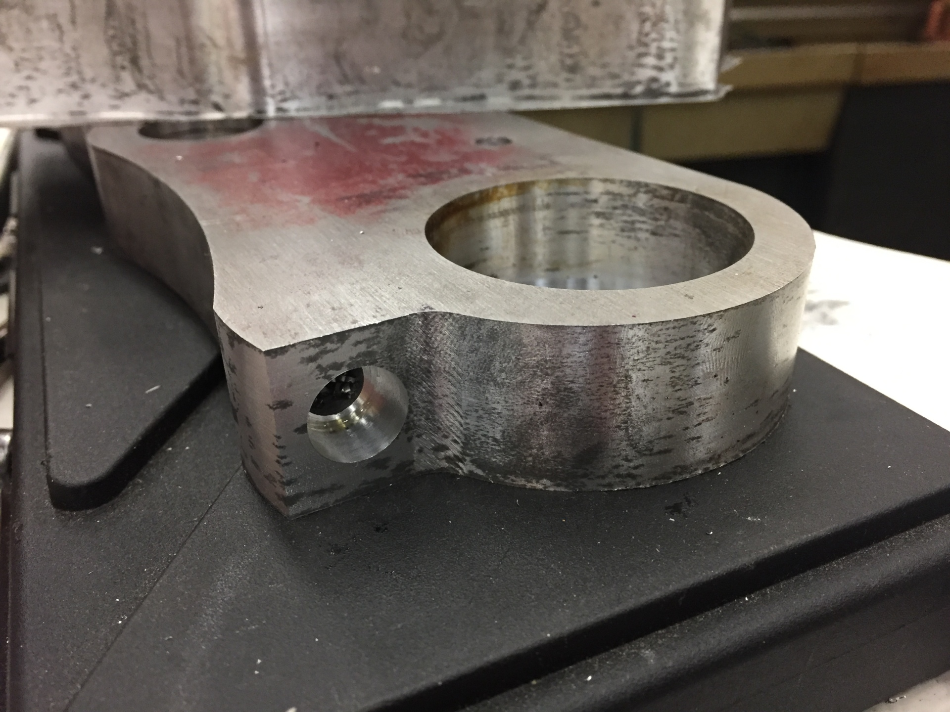 Pinch Bolt Holes Tapped