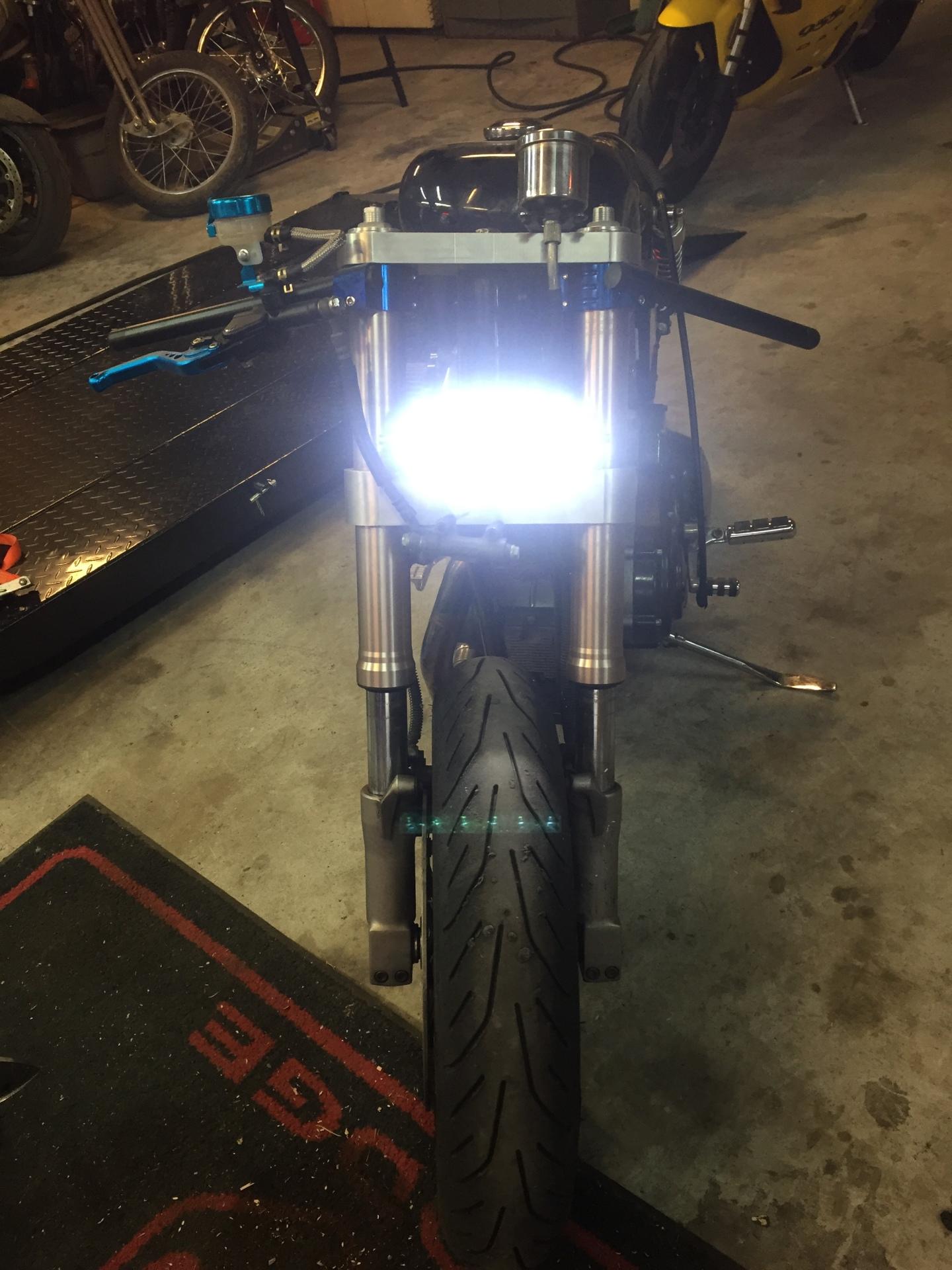 New Headlight Position