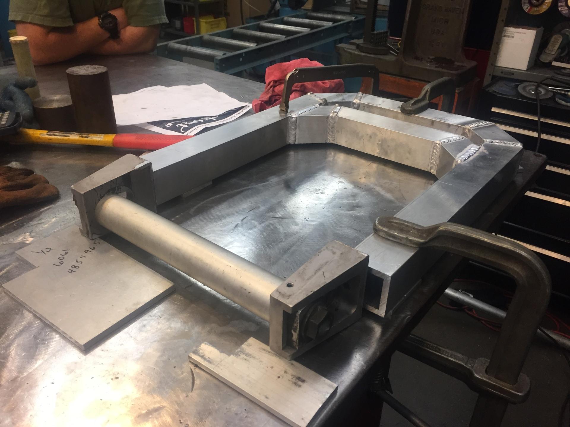 Axle Locator Plates