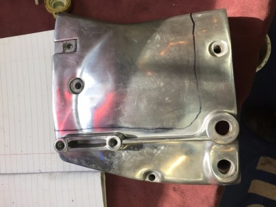 Stock Front Pulley Cover