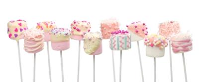 Springtime Marshmallow Pops