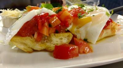Bruscetta Morning Salad