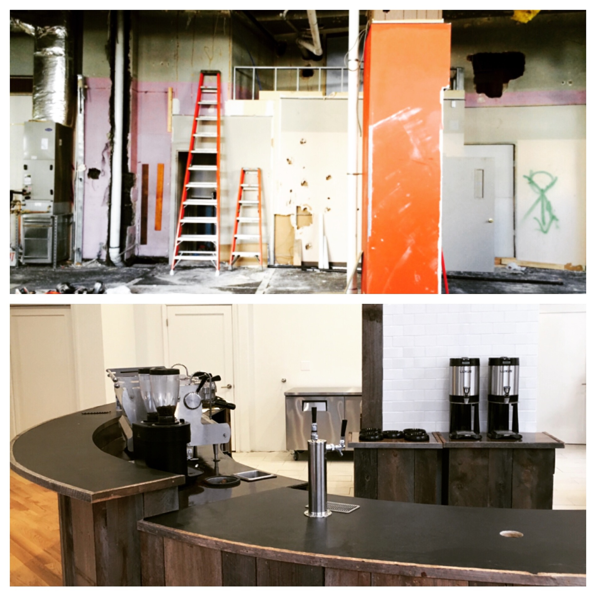 Downtown Albany Grant, Capitalize Albany Corporation, demolition, Arcade Building, specialty coffee shop, retail design, coffee shop design