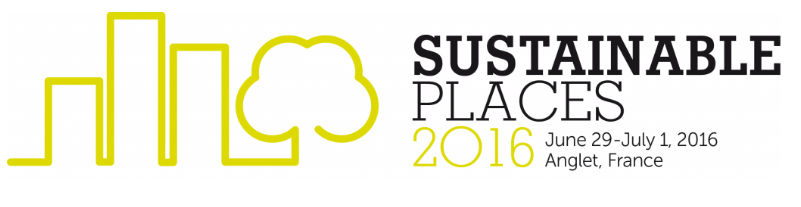 E2District  at Sustainable Places Conference 2016 in Anglet, France