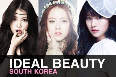 10อันดับ ดาราไอดอลเกาหลีต้นแบบความสวย