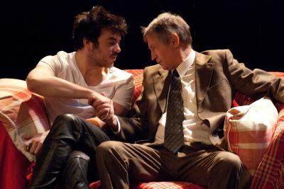 Toby Gordon as Sloane and Martyn Hunter as Ed