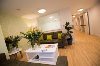 Care home reception