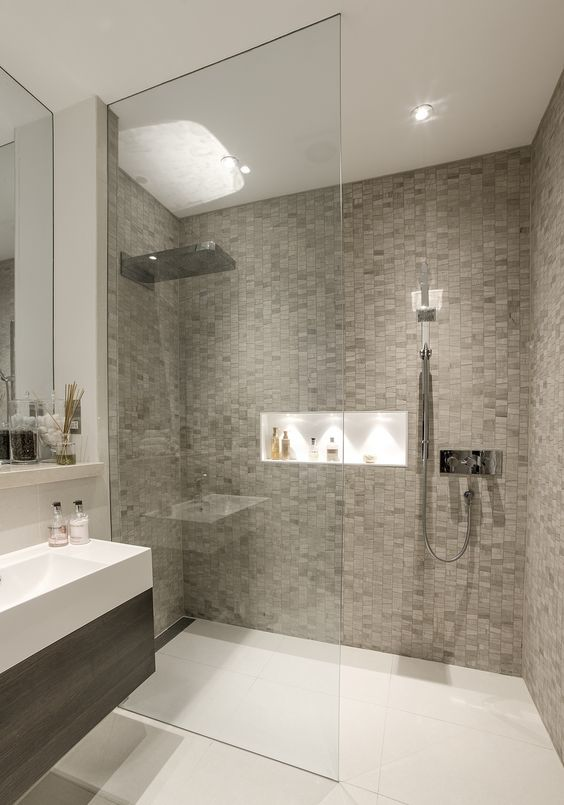 Let the small size of your bathroom help to define it as a beautiful space!