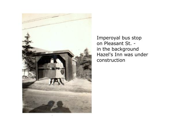 Pleasant St Dartmouth NS Imperoyal Bus Stop