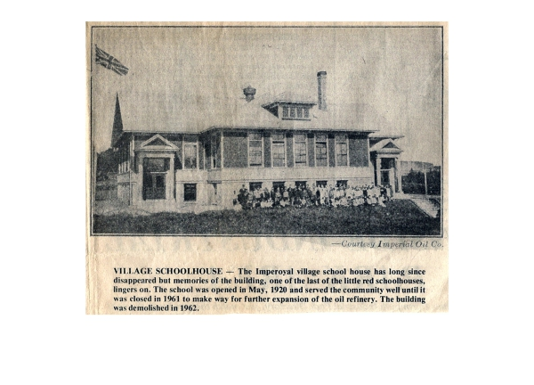 Dartmouth Free Press article VILLAGE SCHOOLHOUSE