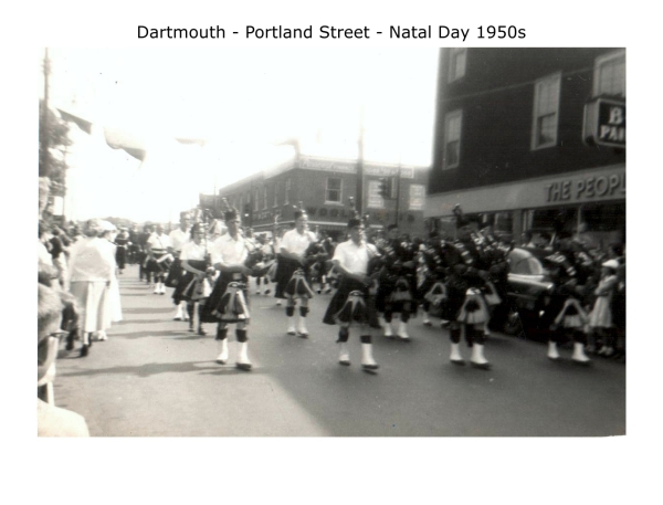 Dartmouth Natal Day 1950s