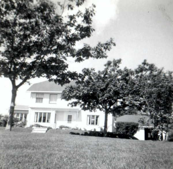 Superintendent's home at the end of Avenue B