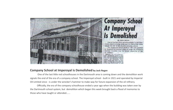 Imperoyal School Woodside is demolished 1962