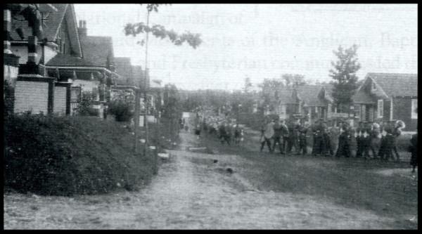 Imperoyal Youth Celebrating Canada's Diamond Jubilee 1927