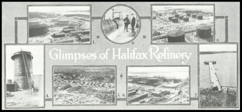 Imperial Oil Review July 1918 Glimpses of Halifax Refinery