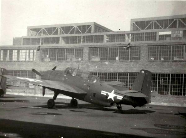 GRUMMAN TBF AVENGER American torpedo bomber