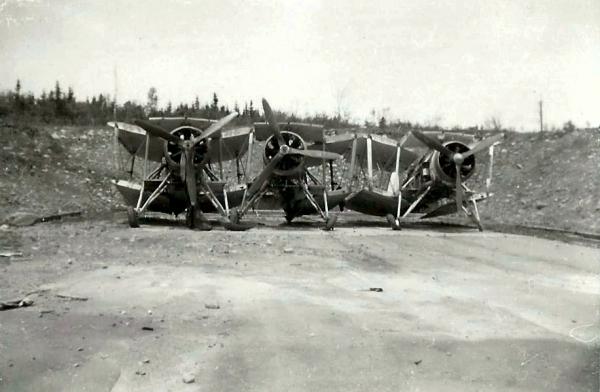 FAIREY SWORDFISH biplane torpedo bomber