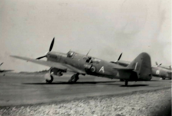 FAIREY FIREFLY F. MK I  carrier-borne fighter aircraft