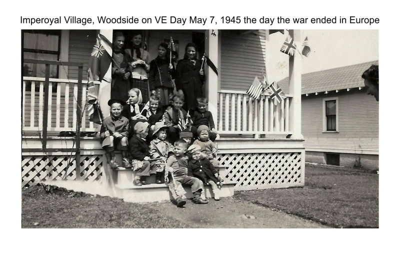 Imperoyal Village, Woodside, VE Day May 7, 1945