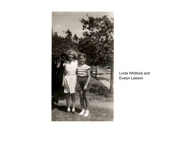 Linda Whitlock and Evelyn Leeson
