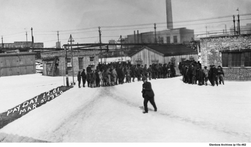Imperial Oil Dartmouth payday Friday, noon, March 5, 1920